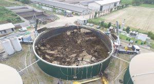 Pulizia Biogas panoramica