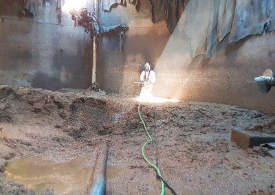 Pulizia Vasca Biogas