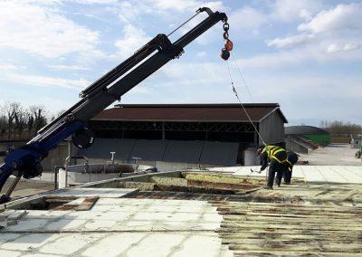 Ripristino tetto Biogas