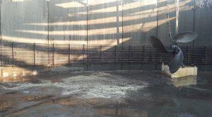 Vasca Biogas Svuotata