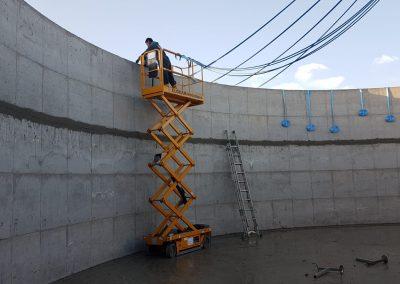 Installazione supporti radiali